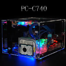 Desk Top Computers On Sale Qdiy Pc C740 New Arrival On Sale Personalized Horizontal Microatx