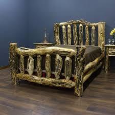 Rustic Log Bedroom Furniture 52 Best Log Beds Images On Pinterest Bed Frames Furniture Ideas