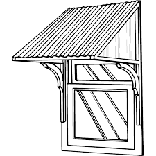Window Awning Kits How To Build A Window Canopy Plans Pdf Woodworking
