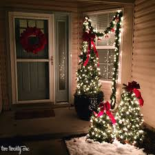 Decorate Outside Christmas Trees by Outdoor Christmas Decorations