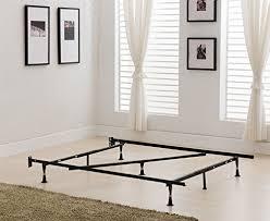 Metal Bed Frame Support Khome Duty 7 Leg Adjustable Metal Bed Frame