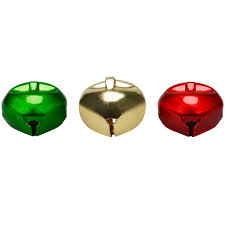 Christmas Ornament Storage Michaels by Buy The 20mm Gold Red And Green Christmas Bells By Celebrate It