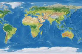 map world oceans how large are the world s oceans mental floss