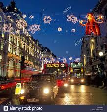 christmas lights regent street london u k europe stock photo