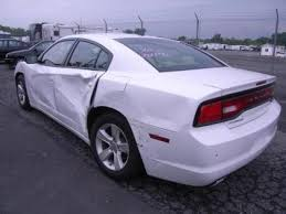 dodge charger sxt 2013 export salvage 2013 dodge charger sxt white on beige