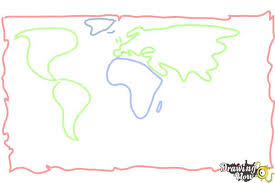 how to draw a map how to draw a map drawingnow