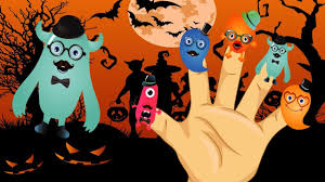 happy halloween finger family nursery rhymes youtube