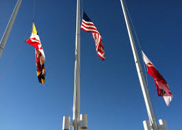 Flying The Flag At Half Staff See Video U0026 Photos An Emotional Vigil Honor Wbal Radio 1090 Am