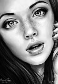photos realistic sketches of girls drawing art gallery