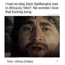 I Love L Meme - dopl3r com memes i had no idea zach galifianakis was in africa