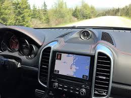 Porsche Cayenne Navigation System - porsche suv u0027s cruise the cabot trail exhausted ca