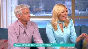 lucy and anna decinque before holly willoughby unimpressed as rylan clark neal makes fun of her