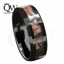 mens wedding bands mens wedding bands suppliers and manufacturers 8mm black tungsten s outdoor camouflage wedding band