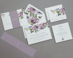 wedding invitations etsy wedding invitations etsy nz
