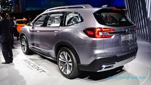 volkswagen suv 3 rows 2019 subaru ascent suv teases long awaited 3 row return slashgear