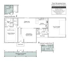 vaulted ceiling floor plans the washington cedar knoll lancaster home builders