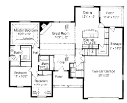 ranch home plans with basements ranch style floor plans open home deco plans