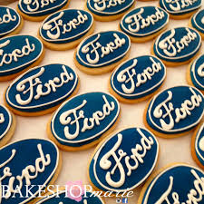 ford logo ford logo sugar cookies bakeshopmarie