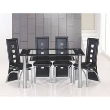 Black Glass Tables Black Glass Dining Table Decoration In Dining Tables Black Glass