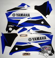 motocross bikes for sale ebay yamaha evo 12 shroud graphic decals wrap kit factory effex