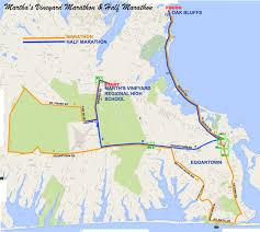 Map Of Boston Marathon Course by Martha U0027s Vineyard Marathon World U0027s Marathons
