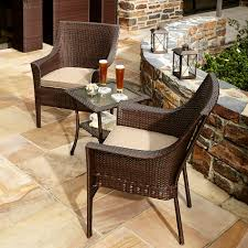 Balcony Bistro Set Patio Furniture Ty Pennington Style Parkside 3 Bistro Set Shop Your Way