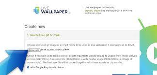 wallpaper upload on google how it works livewallpaper io