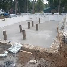 cottage build 2015 basement floor porch propane tank pad u0026 lots