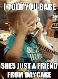 Talking On The Phone Meme - funny meme of kid talking on the phone kids pinterest meme