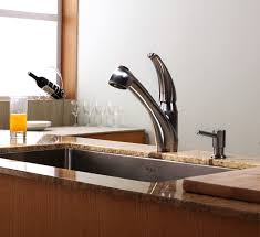 kitchen faucet with sprayer and soap dispenser kitchen faucet set kraususa com