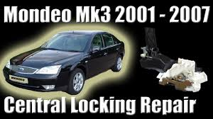 ford mondeo mk3 central locking problem how to replace the drivers