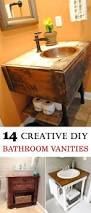 Easy Bathroom Ideas Best 25 Diy Bathroom Vanity Ideas On Pinterest Half Bathroom