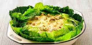 cuisiner un chou vert chou vert frisé gratiné aux chignons facile et pas cher