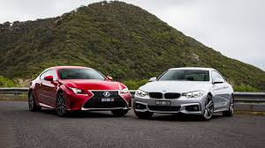 lexus rc 350 f sport for sale rc350 f sport v bmw 435i coupe comparison review