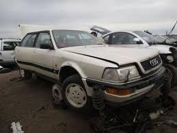 audi v8 lang junkyard find 1990 audi v8 the about cars