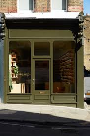 london aesop store opening aesop store aesop and exterior