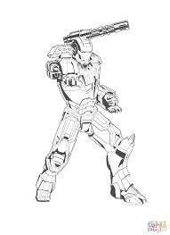 coloring pages of iron man good 4055