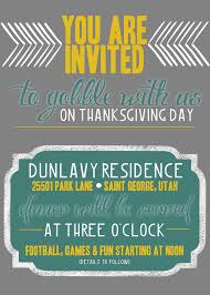 thanksgiving decorating ellie bean design invitation free giveaway