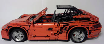 peugeot lego this incredible lego porsche 911 turbo cabriolet has an electric