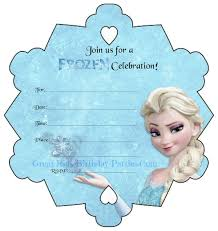 free printable frozen birthday invitations theruntime