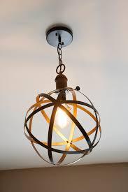20 unique diy ideas for rustic industrial decor style pendant