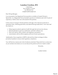 cover letters exles for resumes resume nursing cover letter exles new graduate registered