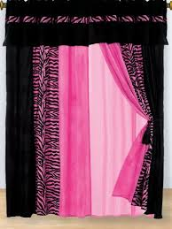 curtains black and pink curtains ideas pink bedroom ideas and