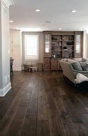 wide plank hardwood floor dark wood floor dark grey wood floor diy hardwood more love the floors