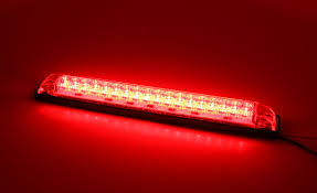Auto Led Light Strips Red Or Amber Led Light Strip Heavy Duty 12vdc 8