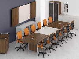 Modular Conference Table System Groupe Lacasse Inc Furniture Manufacturer Quality Canadian
