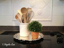 how to paint tile backsplash in kitchen painted ceramic tile backsplash in my kitchen a year later 11
