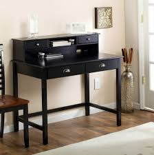 Small Black Writing Desk Small Writing Desk With Hutch Home Design Ideas