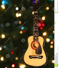 a folk guitar ornament stock image image 16611091