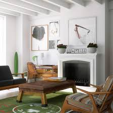 top modern interior designers with simple wooden table and chair